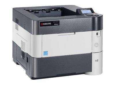 Kyocera Ecosys P3050dn SW-Laserdrucker (drucken bis zu 50 Seiten/Minute, 1.200 dpi) -