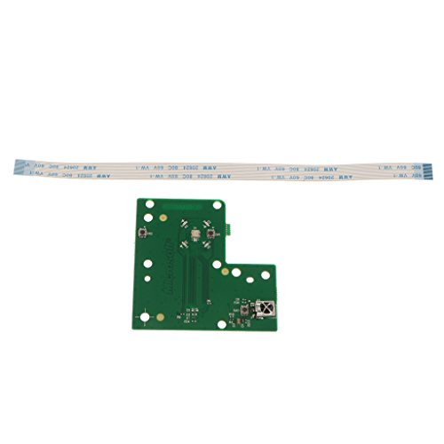 Sharplace Für Xbox 360 Slim E Power Button Switch Board Assembly Modul Ersatz -