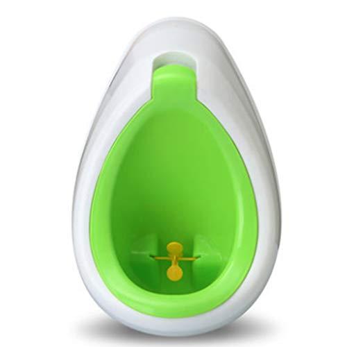 Kindertoilette Junge Baby Wandbehang Urinal-Urinal Kind stehendes Urinal ABS-Toilette Geeignet für Kinder von 1-7 Jahren Kann 60KG standhalten Urinale ( Color : Green , Size : 27*39cm/11*15inch )