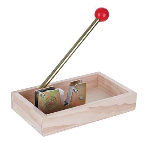 Blentude Nussknacker-Nuss-Zangen-Walnuss-Hochleistungs-Macadamia-Öffner-Schälmaschine mit haltbarem Metallgriff für Haselnuss-Mandeln