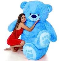 NFW Toys Love Teddy Bear for Girls, Panda Teddy Bears, tady Bears Toys Big Size Latest Blue, 3 Feet)