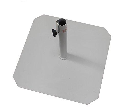 Carlo Guidetti 2002 Base para sombrilla (Hierro, 50 x 50 cm, blanco