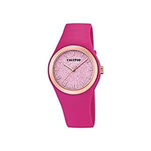 Calypso Watches Womens Analogue Classic Quartz Watch with Plastic Strap K5755/5