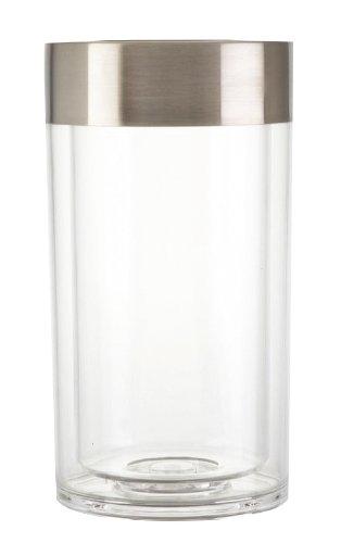 Zeller 27353 Weinkühler, ø 12 x 22,5 cm, Kunststoff / Edelstahl