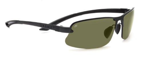 Serengeti Anlass Sonnenbrille, Farbe Objektiv-Polar PHD 555NM Objektiv-, Klasse 2-3, Schwarz