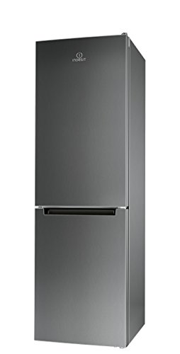 Indesit LI8 FF2 X Freestanding Grey 215L 90L A++ nevera