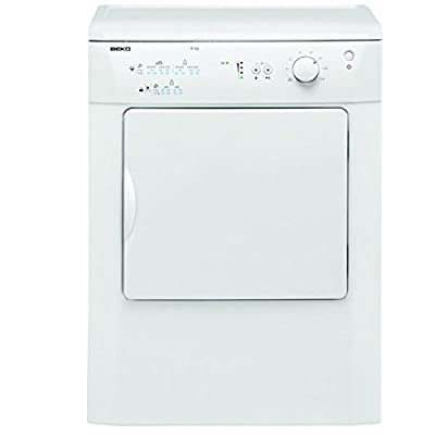Beko DRVT61W 6Kg Vented Tumble Dryer in White from Beko