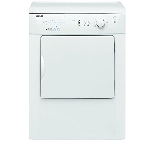 Beko DRVT61W 6Kg Vented Tumble Dryer in White