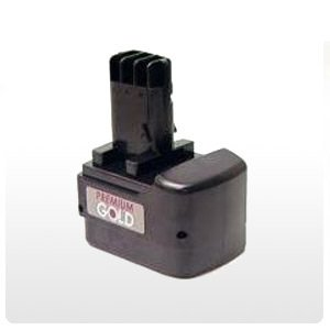 Preisvergleich Produktbild Qualitätsakku - Akku für metabo Akkuschrauber BST 9,6 Impuls - 2000mAh - 9,6V - NiCd