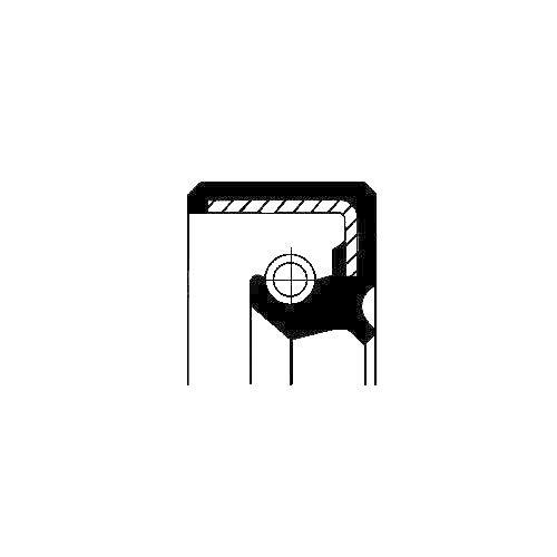Corteco 12011836b Bague d'étanchéité