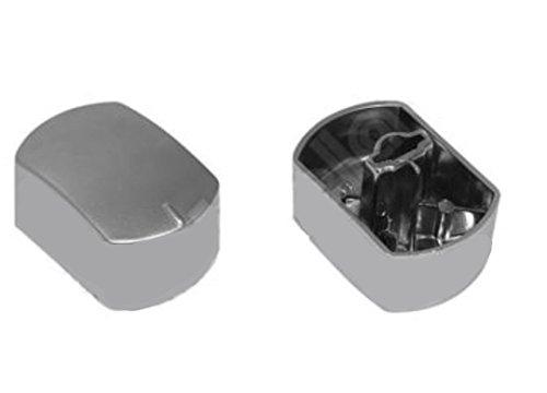 Hotpoint Ariston 1Dial cromado para horno cocina Original c00082490