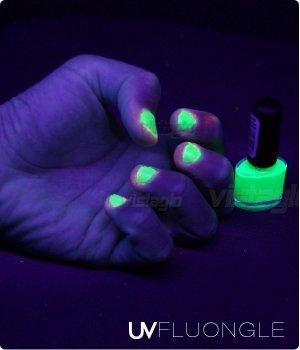 Vernis UV fluorescents Ultra violet - 5 ML - VERT