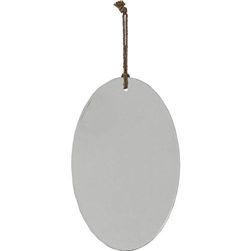 Kare Design Pure Oval Spiegel, 40 x 25 cm