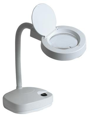 Flexo lupa de mesa con una lupa de 3 dioptrias y Ø 90 mm bifocal ...