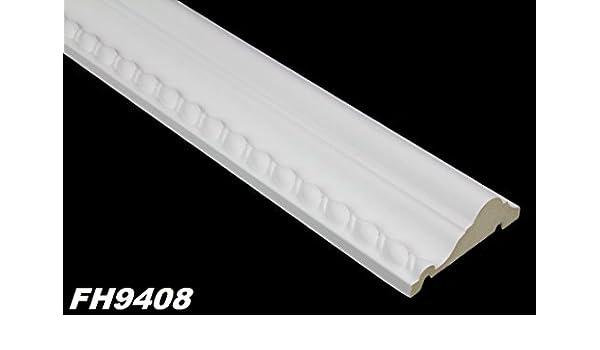 20 Meter Flachprofile Bordüre Wand Deckenleiste Styropor XPS stabil 20x80mm E-30