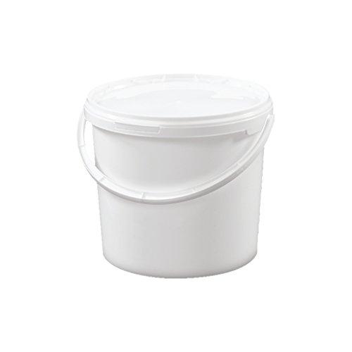 Trevendo® 5 Liter Eimer mit Deckel, lebensmittelecht