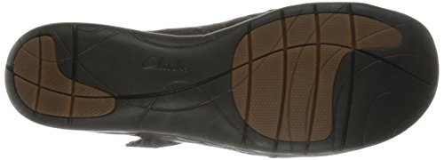 Clarks Un Casey Wohnung Dark Brown Leather