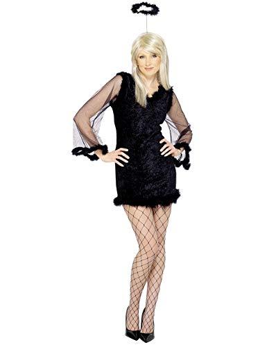 Smiffys Dark Angel Kostüm Frauen Bösere Engel Größe M Damen Halloween Karneval 25622