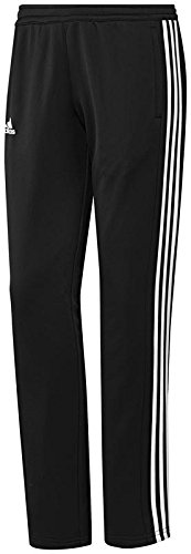 adidas Damen T16 Sweatpant W Hose, Black/White, XS (Adidas Sweat Anzüge Frauen)