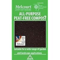 Melcourt - Compost para peatones, 50 litros