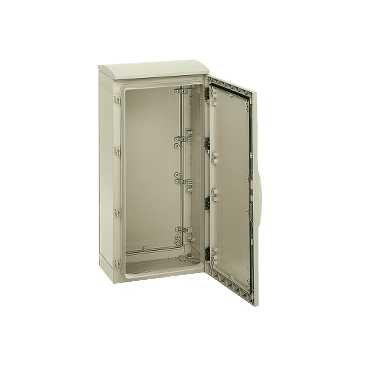Schneider Electric nsyplat7103Unterschrank, Polyester, Open, Rhodium, 750x 1000x 320IP44