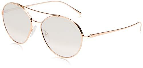 Ray-Ban Damen 0pr 56us Sonnenbrille, Pink Gold/Brown Silver, 55