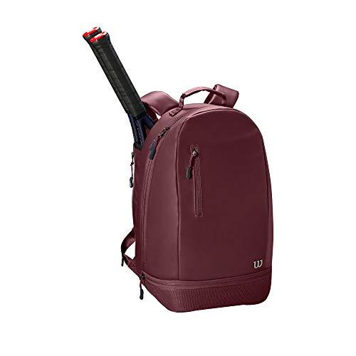 WILSON Women's Minimalist Backpack, Purple - Womens Leder Slip