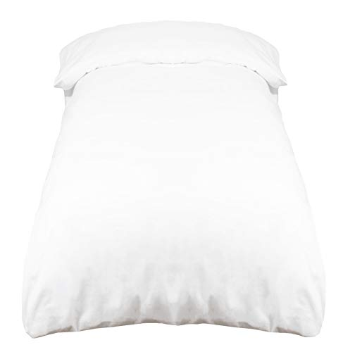 Funda para edredón nórdico de ZOLLNER Con las fundas para nórdico disfrutará de un producto de gran calidad, elaborado con resistente algondón renforcé. Un toque de elegancia con estas sábanas blancas, perfectas para cualquier hogar. La medida 140x20...