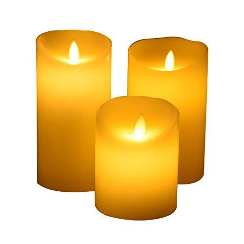 3w Single (LED Kerzen Elektronische kerze romantische umwerbung geständnis layout ehe guide led licht schaukel simulation fake paraffin große 12,5 cm single, 12,5 * 30 CM)
