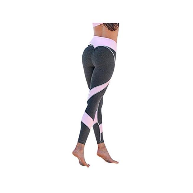 Homebaby Leggings Sportivi Donna Push Up Maglia Eleganti Leggings Sport Opaco Yoga Fitness Spandex Palestra Pantaloni Leggins Pantaloni Tuta Donna