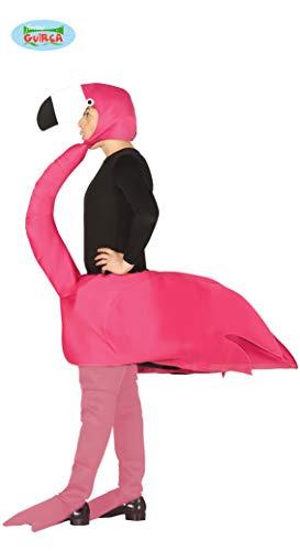 Erwachsenen rosa Flamingo Kostüm Größe L 52 - Flamingo Kostüm Für Erwachsene