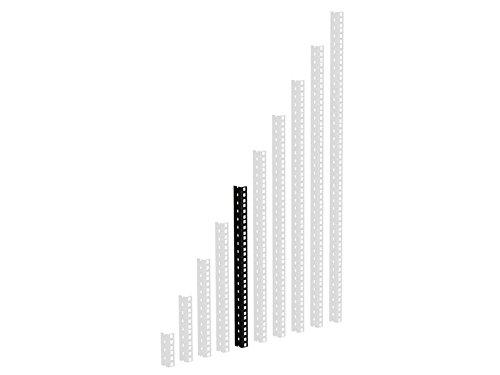 ah Hardware 61535B10 Adam Hall 44,5 cm (17,5 Zoll) Parts HD Rackschiene 10 HE schwarz