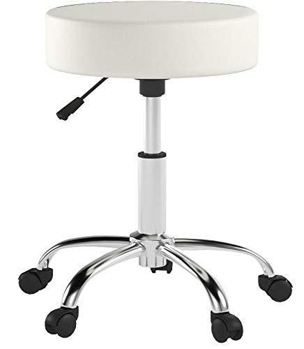 Variant eStamm Rollhocker M-95027 stool Bianco