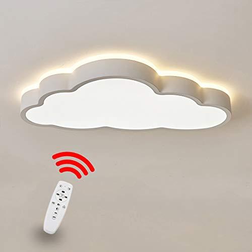 RREN Lighting LED-Deckenleuchte, Ultradünne Kreative Wolken-Deckenleuchte, Kinderzimmer-Deckenleuchte, Junge Und Mädchen-Schlafzimmer-Lampe Einfache Karikatur-romantische Deckenleuchte -
