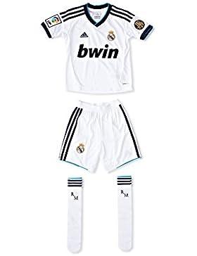 Real Madrid By Adidas Equipación Fútbol Primera Equipación Blanco 14-15 años (162/166 cm)