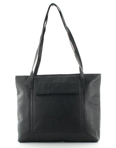 bazaar-shopper-big-7365-echt-leder-schwarz