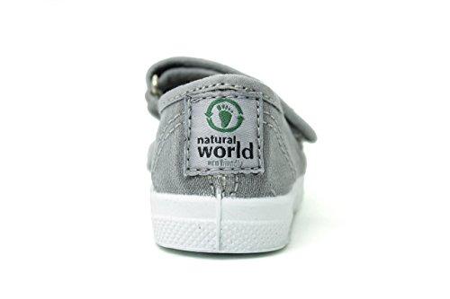NATURAL WORLD - 476E - MODELLO VEGANO GRIS ENZI