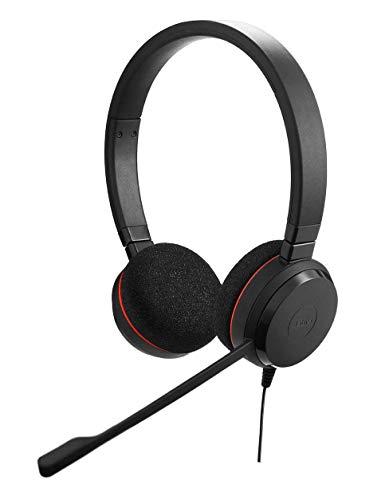 Jabra Evolve 20 Professionelles VoIP-Softphone Stereo Headset (geeignet für PC)