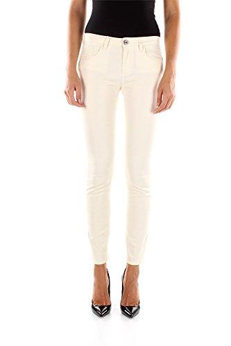 Jeans Pinko Donna Cotone Bianco Sporco 1G116WY1JFZ09 Bianco 31 Iper Skinny