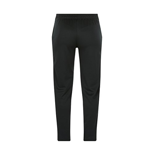 Ladies Tapered Poly Knit Pant schwarz