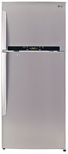 LG 495 L 4 Star Frost-Free Double-Door Refrigerator (GL-T542GNSX, Noble...