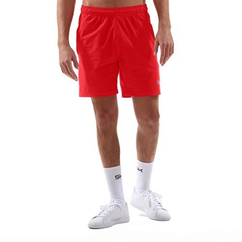 Sportkind Jungen & Herren Tennis, Training, Sport Shorts Regular, rot, Gr. L