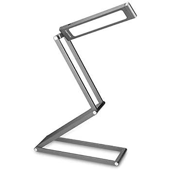 kwmobile LED Aluminium Tischlampe faltbar - Akku