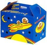 Cosmic Pet Shuttle Cardboard Carrier by Cosmic Pet Products -