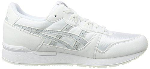 Zapatillas De Running Asics Gel-lyte, Blanco Para Hombre (blanco / Gris Glaciar)