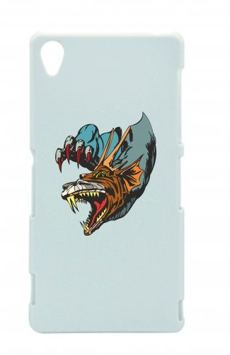 Smartphone Case testa di drago con artigli Cartoon Dragon Fantasy Comic per Apple Iphone 4/4S, 5/5S, 5C, 6/6S, 7& Samsung Galaxy S4, S5, S6, S6Edge, S7, S7Edge Huawei HTC-Diverti