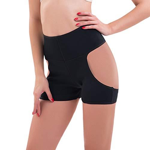 Mitlfuny Damen Push-up Bodyshaper Padded Shapewear Höschen Hip Enhancer,Plus size dessous sexy höschen frauen underwear aushöhlen körperformung hosen