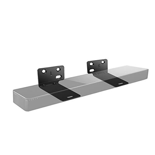 LANMU Wandhalterung Halterung Halter Lautsprecher Zubehör kompatibel mit Bose WB-300 SoundTouch (schwarz) Speaker Wall Mount Kit