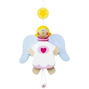 Sevi - Títere Angel de la Guarda niña, 14 cm (Trudi 82658)