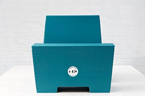 ROOM IN A BOX | MonKey Desk L/P: Faltbares ergonomisches Stehpult, praktischer Ständer für Laptop, PC, Tablet und Monitor, klappbarer Standing Desk für den Schreibtisch - 2